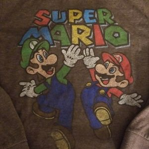 Super Mario Brothers long sleeve tshirt